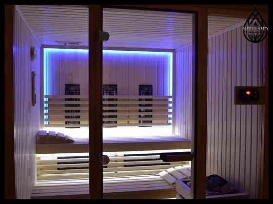 Декоративное освещение для инфракрасной сауны Алматы