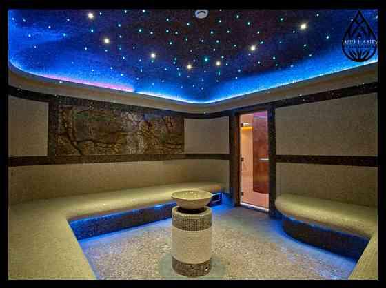 Декоративное освещение для паровой комнаты Алматы