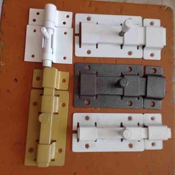 Продам Мебельная фурнитура и комплектующие Задвижки дверные производства России в ассортименте  Павлодар