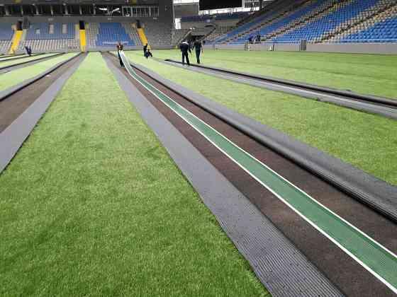Продам Резиновые покрытия  искусственная трава  Нур-Султан
