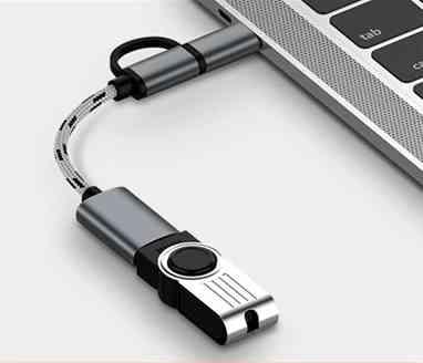 OTG-Кабель для сот телефона (USB+Micro+Type-c) Павлодар