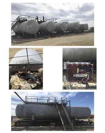 WestKaz - Group. Подключение GPS оборудования к нефтяным резервуарам. Актау