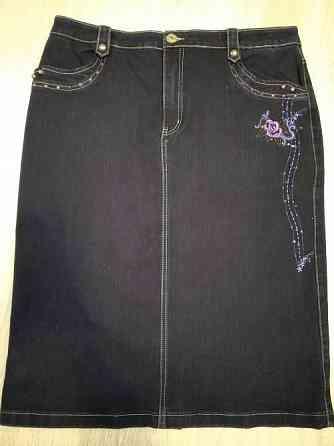Продам Джинсовая юбка размер 54  Павлодар